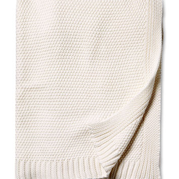 Melange Home Hampton Throw - Cream/Tan