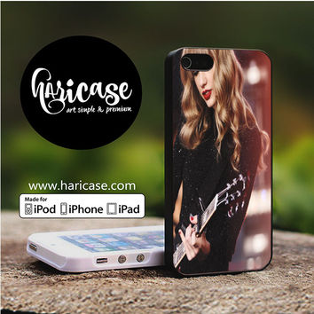 Taylor Swift Guitar Cute iPhone 5 | 5S | SE Cases haricase.com