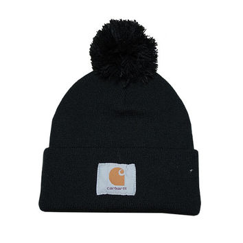 Perfect Carhartt Women Men Embroidery Winter Beanies Knit Hat Cap
