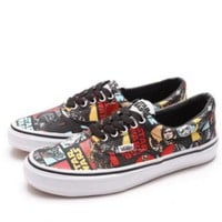 Vans Star Wars bands Women Men Sneakers Convas Casual Shoes Print I-FEU-SY