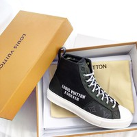 Louis Vuitton LV Tattoo Sneaker Boot