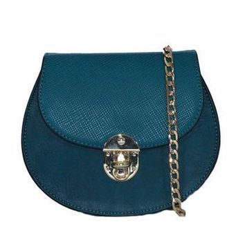 Belle Cross Body Bag - Peacock