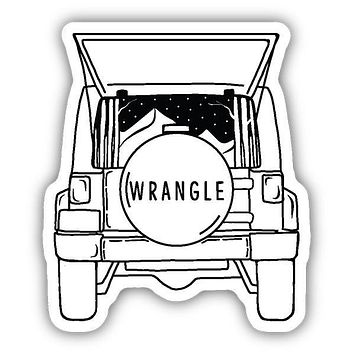 PNW Jeep Wrangle Sticker