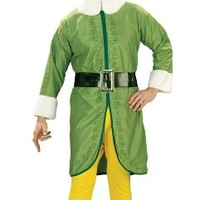 Buddy The Elf Movie Costume, As Shown, Standard