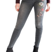 On Vacation Embroidered Jeans