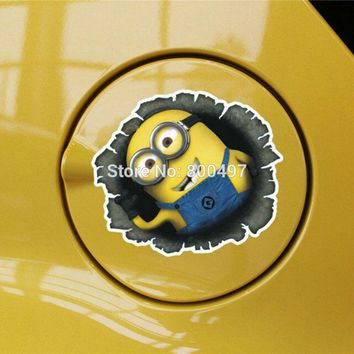 Newest Minions Despicable Me Jerry Jorge Stuart Body Stickers Car Decal for Toyota Mazda Peugeot Chevrolet Volkswagen Kia Lada