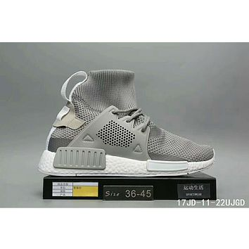 Adidas Clover NMD XR1 BOOST Winter Men's Casual Fashion Sneakers F-HAOXIE-ADXJ Gray
