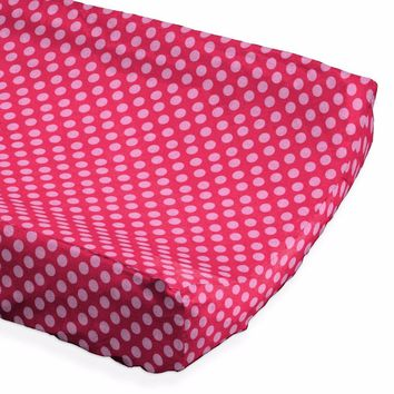 Pink Dots - Changing Pad Cover