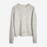 Rib Alpaca Pullover Light Grey - Knitwear - Shop Woman - Filippa K