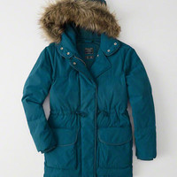 Womens Faux Fur Hooded Puffer | Womens New Arrivals | Abercrombie.com