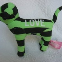 Victoria's Secret LOVE Dog with Stripes