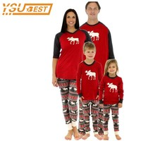 Christmas Pajamas Family Clothing 2017 Family Matching Mother Daughter Father Son Clothes Family Clothing Sets Family Style Set