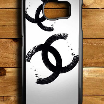 Chanel Typography Samsung Galaxy S6 Case