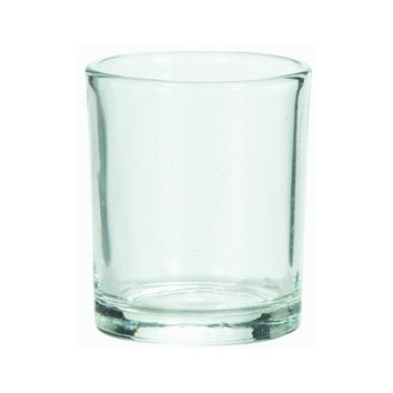 Candle Lite® 0862130 Votive Candle Holder, Clear