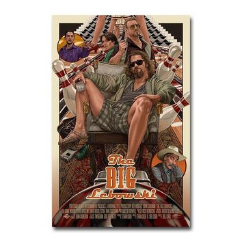 The Big Lebowski Classic Movie Silk Poster Wall Art Print 12x18 24x36 inch Decoration Pictures Wallpaper Living Room Decor 001