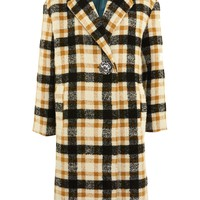 Heavy Checked Midi Coat - New In Fashion - New In