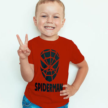 Spiderman T-shirt, Child T-shirts, Spiderman Birthday T-Shirt, Birthday, toddler, Spiderman birthday shirt
