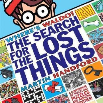 Where's Waldo? The Search for the Lost Things: A Compendium of Puzzling Puzzles (Where's Waldo?)