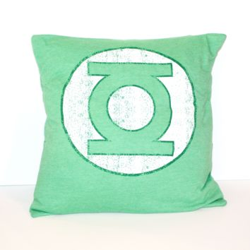 Green Lantern Pillow
