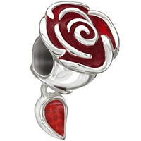 Disney - Belle's Enchanted Rose - Red Enamel