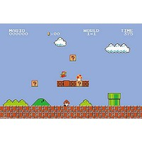 Level 1-1 Super Mario Bros Poster - Spencer's