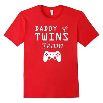 Men's Daddy and Me Matching Shirts | Daddy of Twins Gamer T Shirt