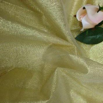 """58"""" wide, Lame Fabric Multiple Colors, Dress or Tables, Metallic, Lot of 2 Yds"""