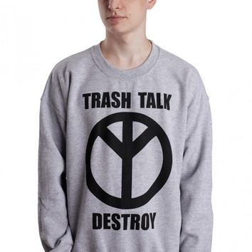 Trash Talk - Destroy Sportsgrey - Sweater
