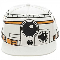 Star Wars Episode VII The Force Awakens BB8 Big Face Snapback Hat