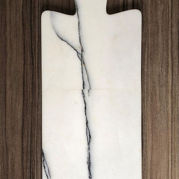 Handmade Marble Chopping Board, Custom Marble Art, Handmade Home Decor, Personalized Marmor Slicing Board, Gift for Her, Gift for Him, White