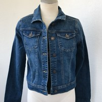 ABRA DENIM JACKET- BLUE