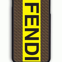 iPhone 6S Case - Hard (PC) Cover with fendi logo Plastic Case Design