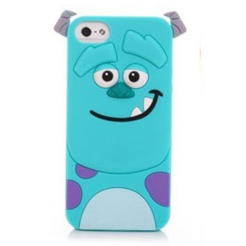 3D Sully Monster Inc. Silicon Phone Cases Cover For iPhone 7 4S 5 5S SE 6 6s Plus