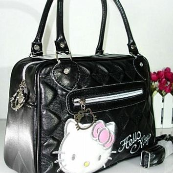 Xingkings New Hello Kitty Bag Handbag Shoulder Purse Tote Ba