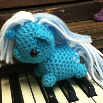 Trixie My Little Pony crocheted amigurumi plush