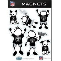 NFL - Oakland Raiders Family Magnet Set