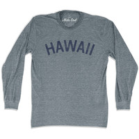 Hawaii City Vintage Long-Sleeve T-shirt