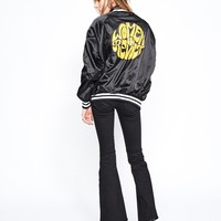 Women in Revolt Satin Jacket