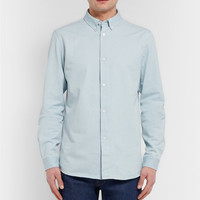 A.P.C. - Button-Down Collar Chambray Shirt | MR PORTER