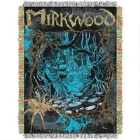 The Hobbit: The Desolation of Smaug Mirkwood Tapestry Throw Blanket