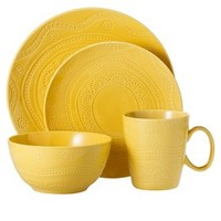 Threshold™ Kennet 16 Piece Dinnerware Set - Buttercup