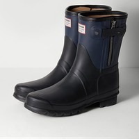 Rag & Bone - Hunter Short Boot, Navy Combo
