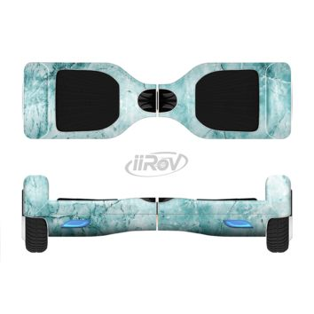 The Cracked Turquise Marble Surface Full Body Skin Set for the Smart Drifting SuperCharged Transportation iiRov