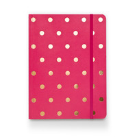 Polka Dot Journal - Raspberry