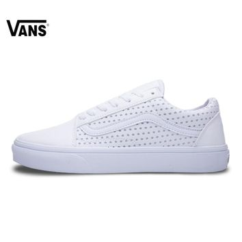 VANS Old Skool Hollow Out Starts  Printing Low-top Trainers Women Sports Vans Skateboarding Shoes for Women VN0A3JLIJ65 35-39