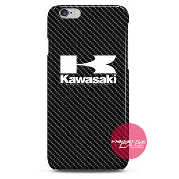 Kawasaki Motorcycle Logo iPhone Case 3, 4, 5, 6 Cover