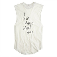 Womens Public School For J.Crew Love Ps Boys Tank