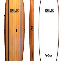 10'8 Isle Soft Top SUP - Wood