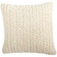 Ruched Pillow - Ivory