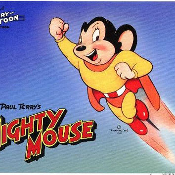 Mighty Mouse 11x14 Movie Poster (1943)